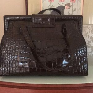 Talbots Bags - Brown leather purse Talbots